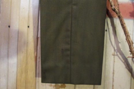 H Bar C 60s Olive Green Vintage Sharkskin Slacks