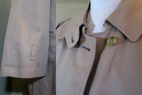 Vintage Burberry Coat Nova check lining Burberry balmacaan