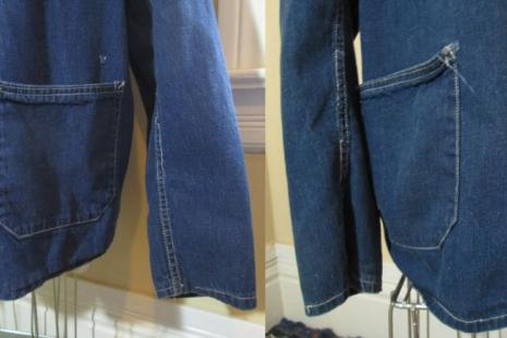 Barn Coat 50s worn distressed Vintage Chore Jacket