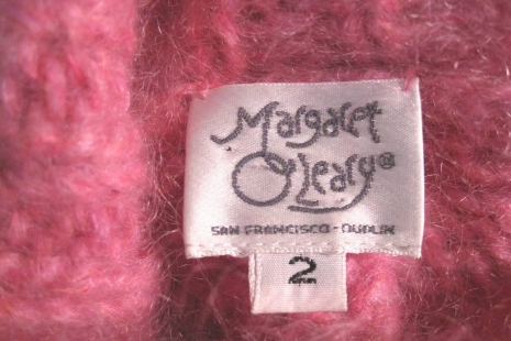 Pink mohair sweater Margaret O'Leary funkomavintage