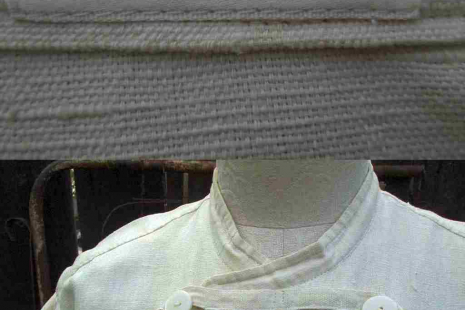 Vintage Matsuda Dress Ivory Cotton by funkomavintage