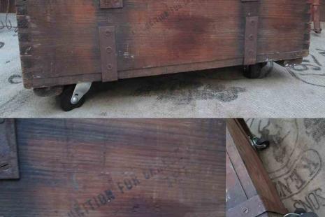 Vintage Coffee Table trunk