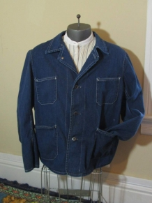 Barn Coat 50s worn distressed Vintage Chore Jacket