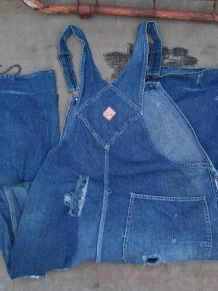 Pay Day 50s Vintage Overalls
