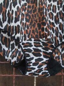 Leopard vintage Vanity Fair panties funkomavintage