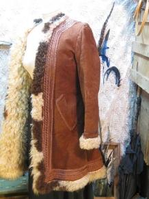 60s vintage Afghan coat