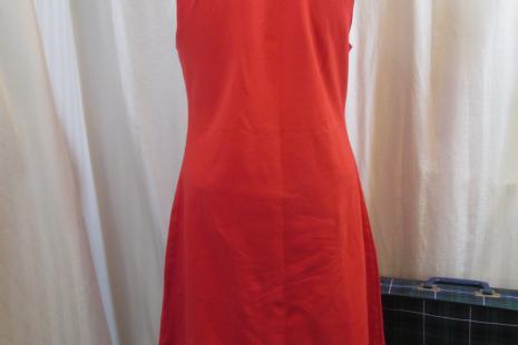 funkomavintage Target Stephen Sprouse 2002 graffiti Red stretch Dress