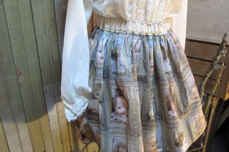 spooky babydolls mini skirt