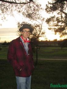 Shadow plaid hunting jacket